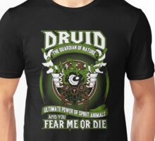 Druid The Guardian Of Nature - Wow Unisex T-Shirt