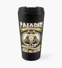 Paladin The Warrior Of The Light - Wow Travel Mug