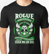 Rogue The Master Of Stealth - Wow T-Shirt