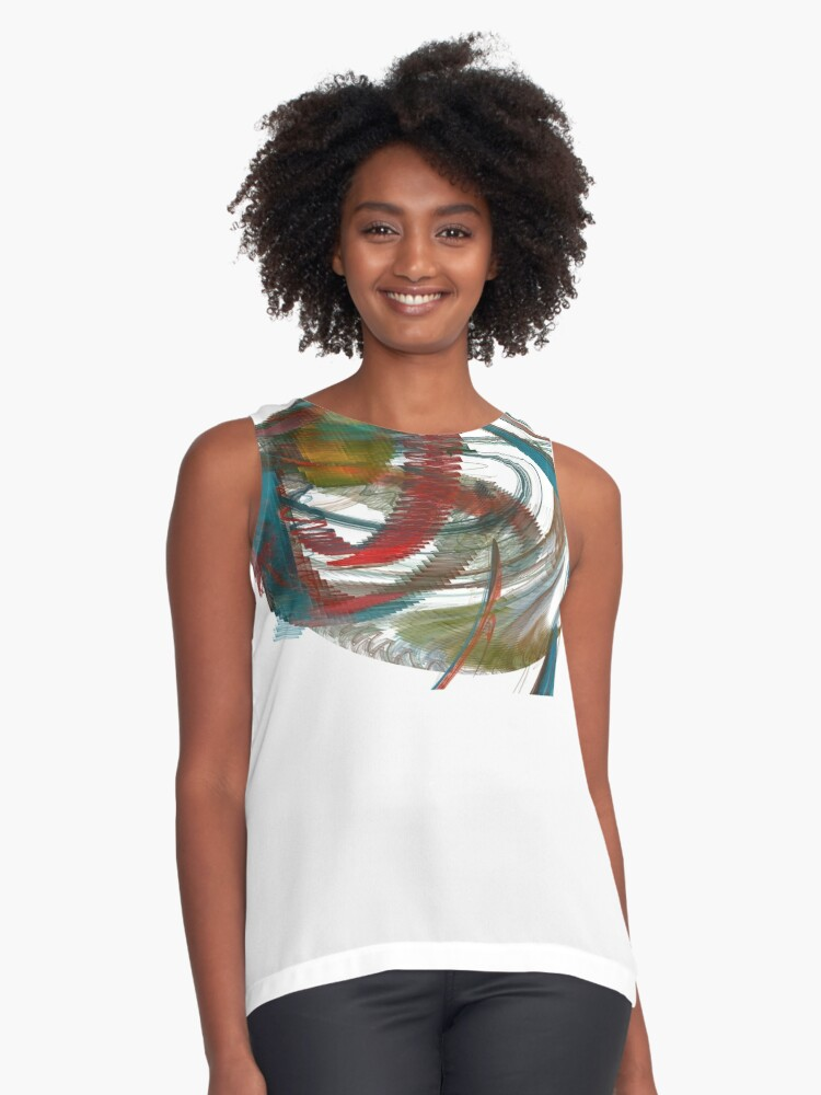 Untitled Contrast Tank Front