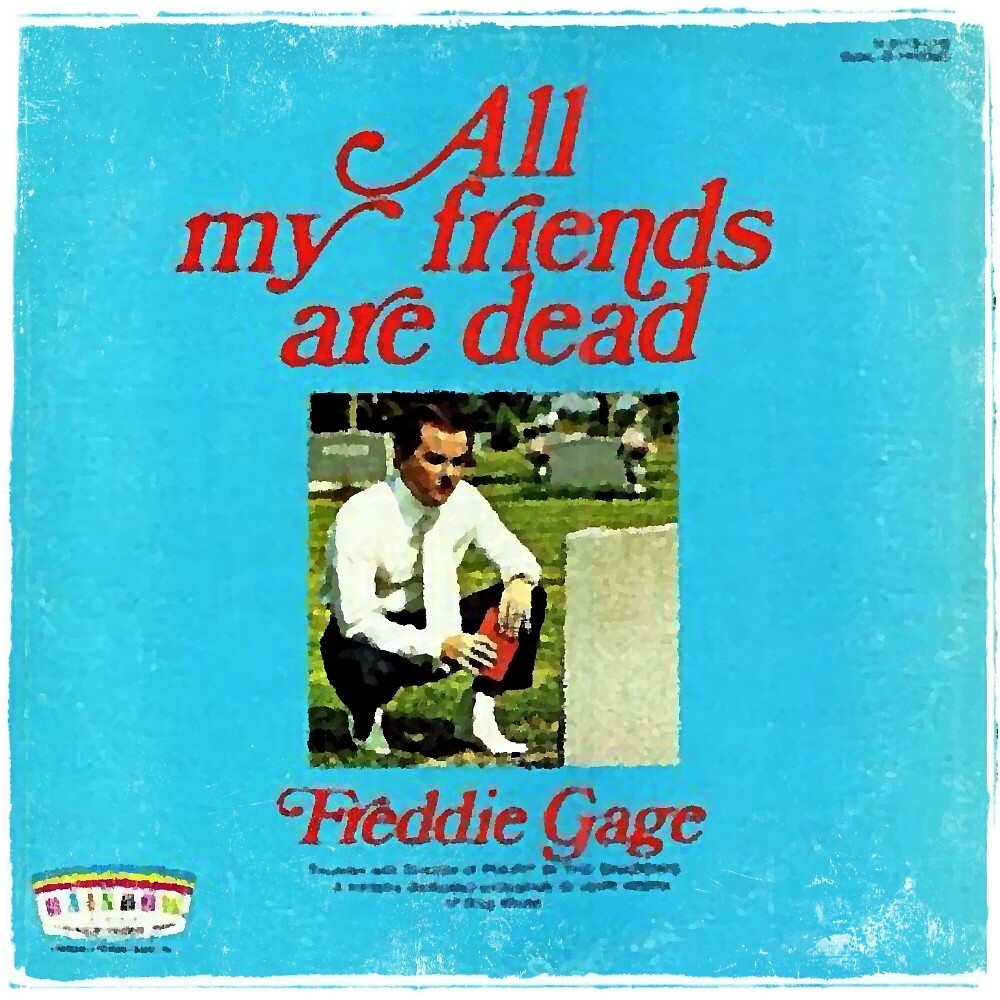 Vinyl Record Cover - All my friends are dead by RecordCovers