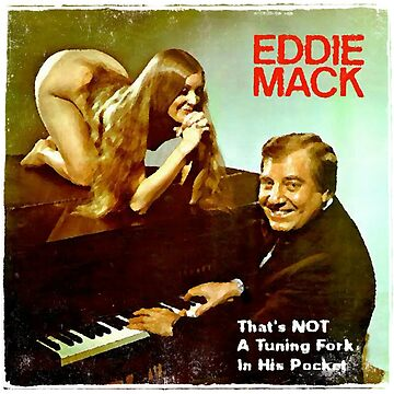 Vinyl Record Cover - Eddie Mack by RecordCovers