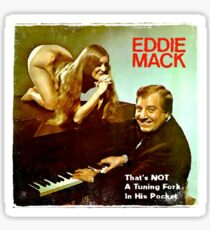 Vinyl Record Cover - Eddie Mack Sticker