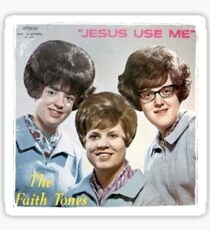 Vinyl Record Cover - Jesus Use Me Sticker