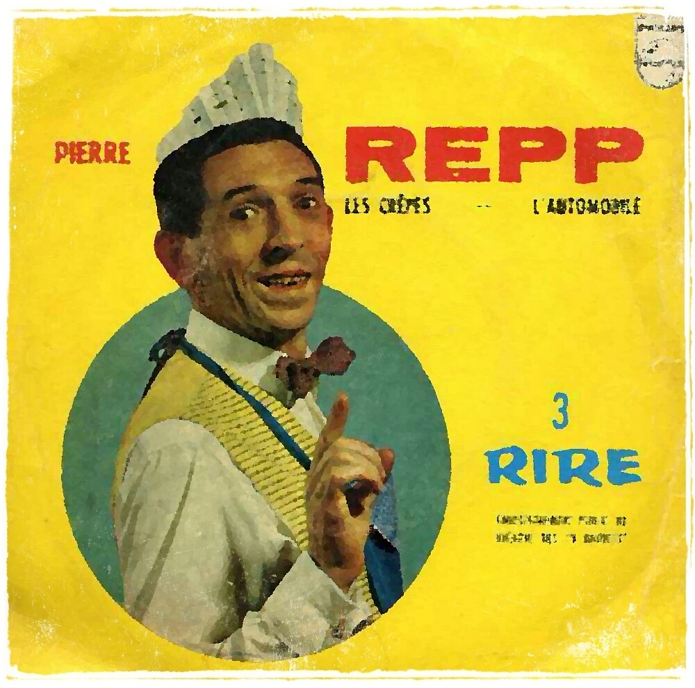 Vinyl Record Cover - REPP by RecordCovers