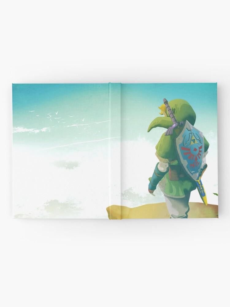 Alternative Ansicht von Skyward Schwert! Notizbuch