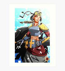 Sword Maiden Art Print