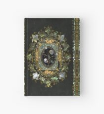 Mother Of Pearl Antique Book Cover Design Hardcover Journal