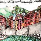 Riomaggiore  by Jenny Wood