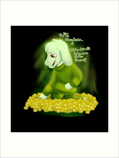 Asriel Dreemurr by LuckyDan