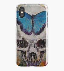 Butterfly Skull iPhone Case/Skin