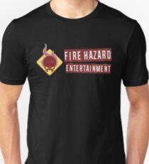 Fire Hazard Entertainment Banner Unisex T-Shirt