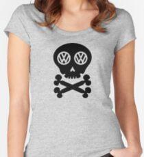 VW Deadhead Women's Fitted Scoop T-Shirt