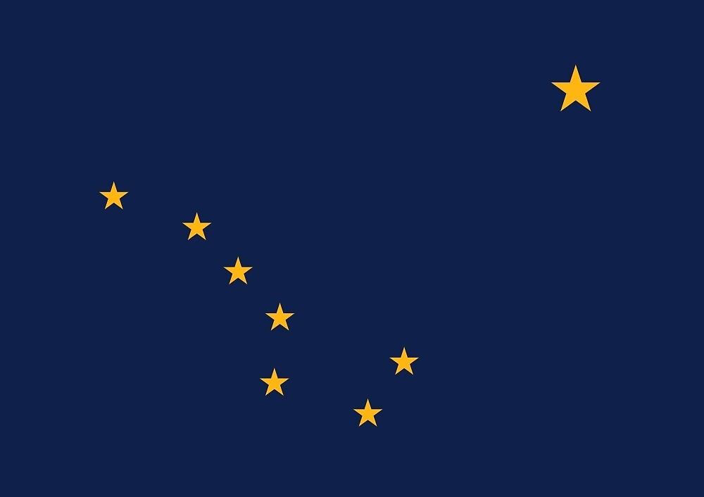 Flag of Alaska  by abbeyz71