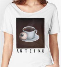 Camiseta ancha para mujer Anteiku Ghoul Coffee