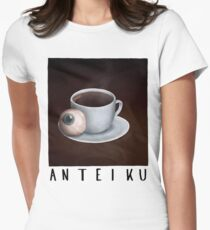 Anteiku Ghoul Coffee Women's Fitted T-Shirt