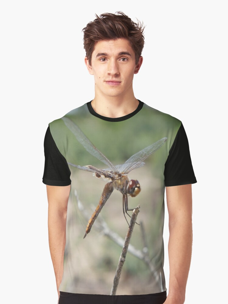 Dragonfly  Graphic T-Shirt Front