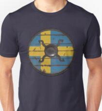 Swedish Viking Shield Unisex T-Shirt
