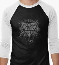 Camiseta ¾ bicolor para hombre D20 de poder