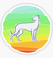 Galgo Sticker