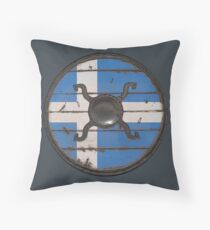 Shetland Viking Shield Throw Pillow