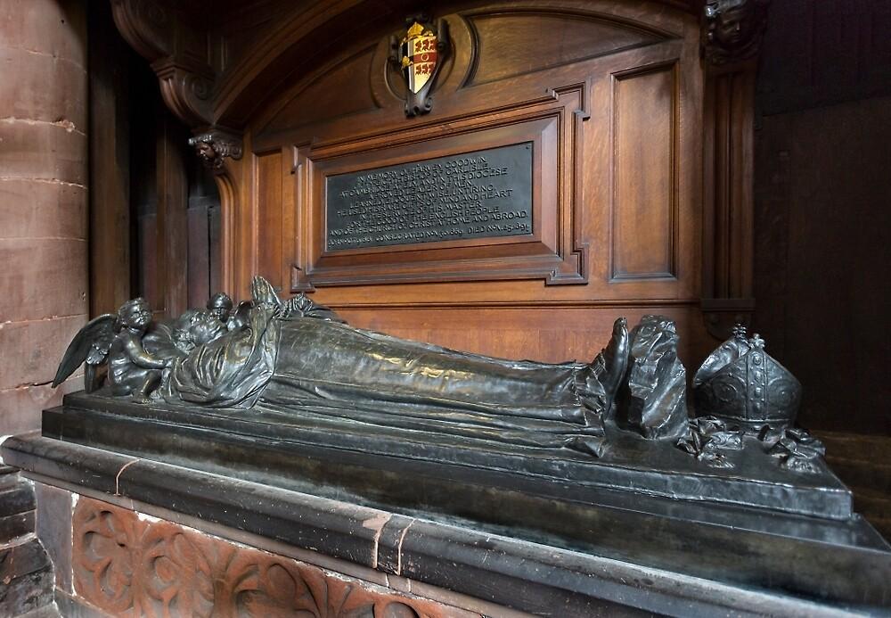 Carlisle Cathedral-Tomb(Harvey Goodwin,full view) by jasminewang