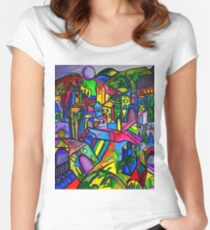 Dreamscapes Women's Fitted Scoop T-Shirt