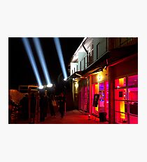 Red Light District - Dark Mofo 2014 Photographic Print