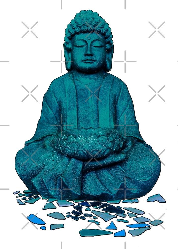 Buddha blue by freaks13