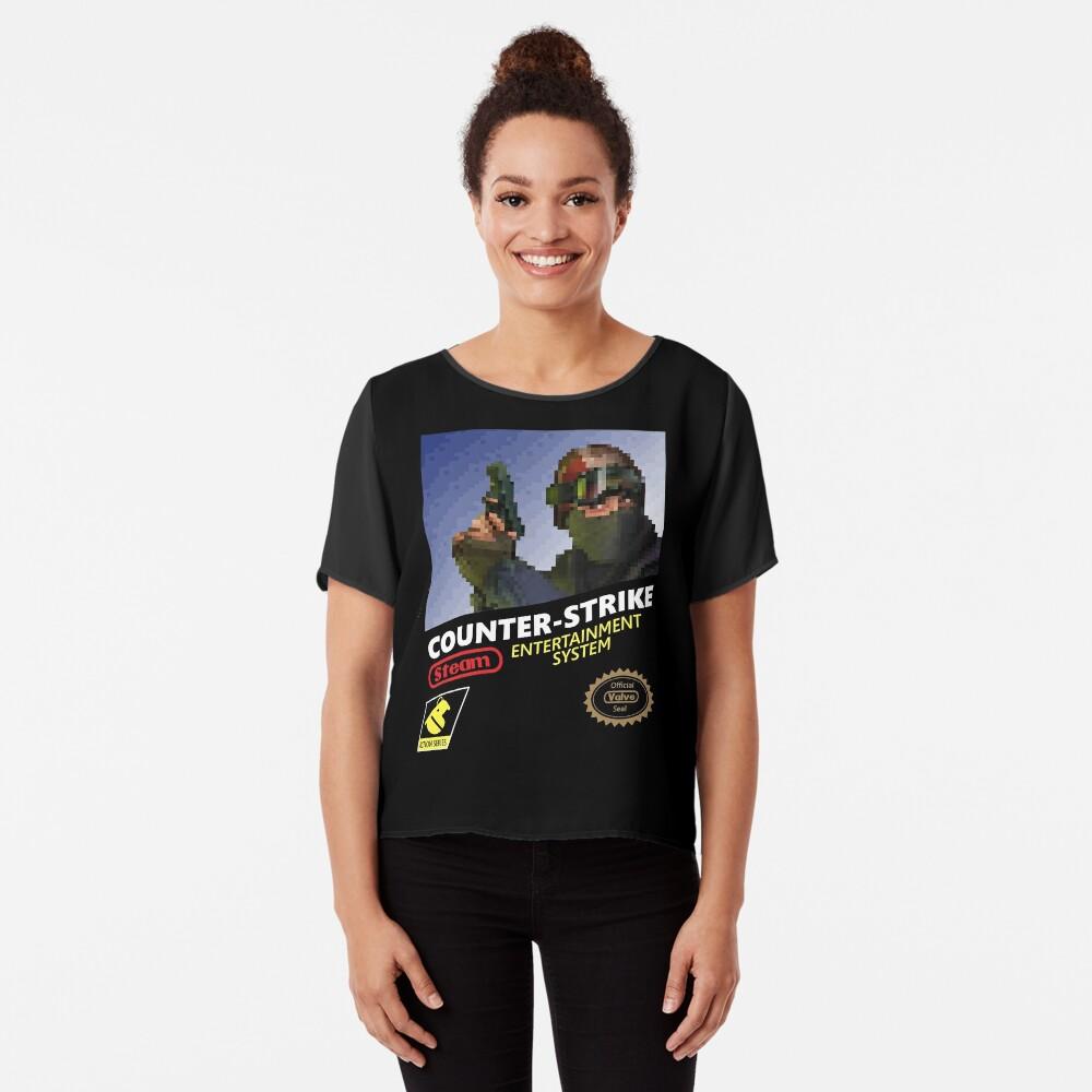 CS: GO camiseta retro Blusa