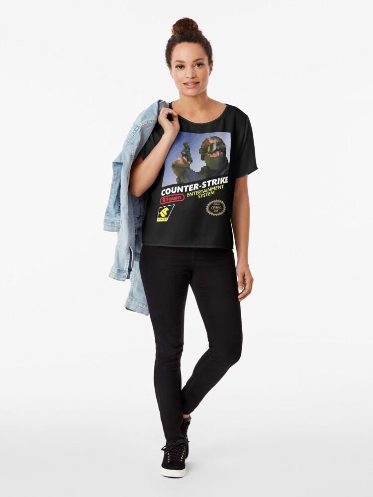 Vista alternativa de Blusa CS: GO camiseta retro