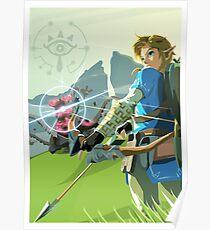 Breath of the Wild - Legend of Zelda Poster