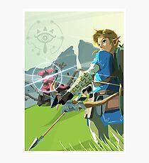 Breath of the Wild - Legend of Zelda Photographic Print