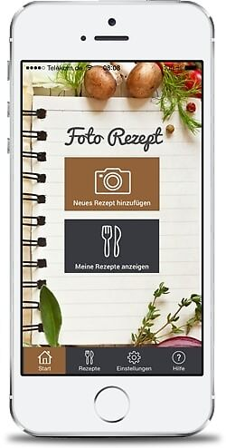 Manage Recipe Collection on iPhone App by Recepino