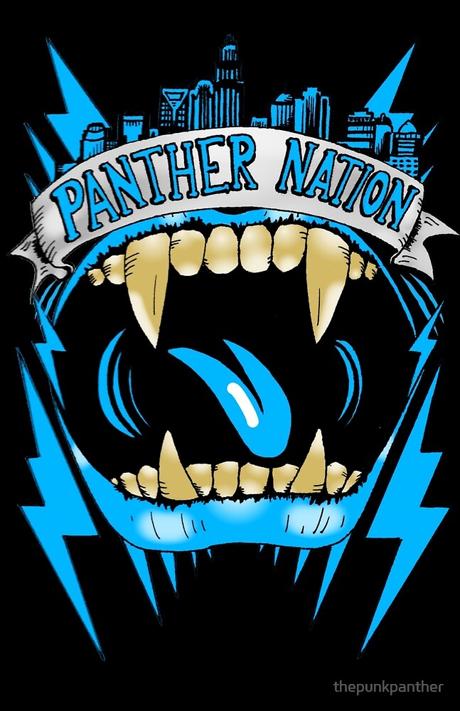 "Panther Nation ""Pride"" by thepunkpanther"