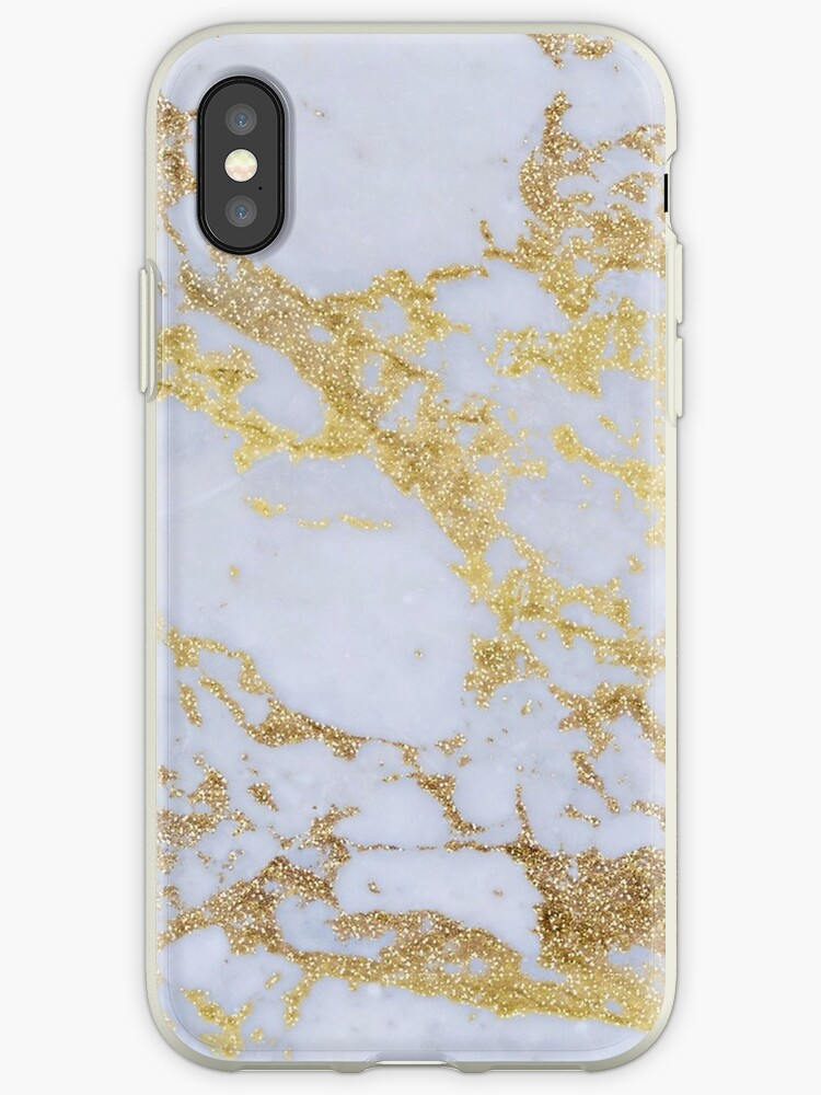 Gray Gold Marble Pattern by FangirlFuel
