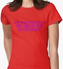Feminist Smash The Patriarchy gifts for Equal Rights,unique swag Womens Fitted T-Shirt