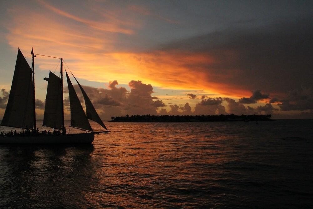 Key West Sunset by randomcarl