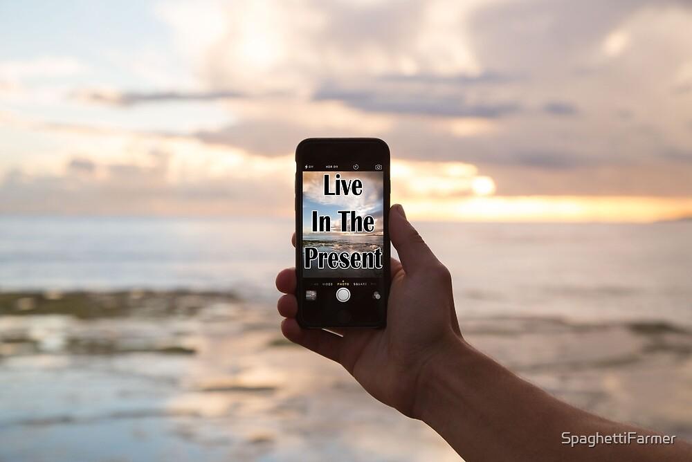 Live in the Present (Selfie) by SpaghettiFarmer