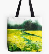Nutfield, watercolour landscape painting Tote Bag