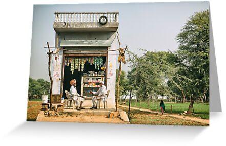 Store Chat - Rajasthan, India by JamesKaoFoto