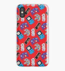 Nintendo Nostalgia - Red iPhone Case/Skin