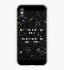 5SOS 5 Seconds of Summer Outer Space Lyric Doodle iPhone Case