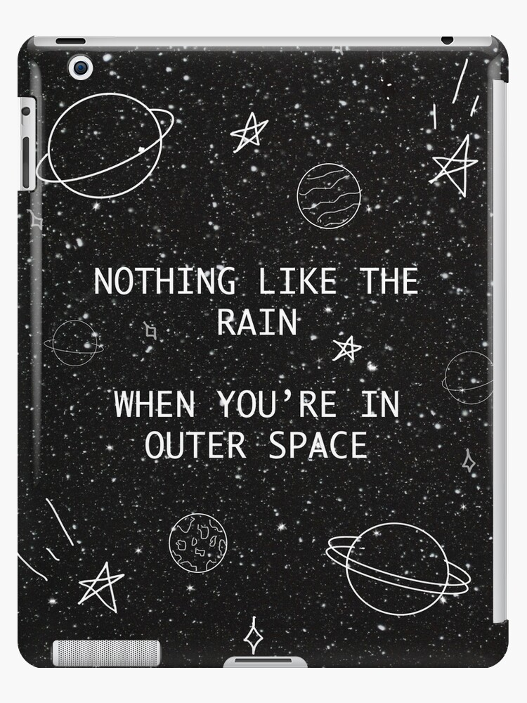 sale retailer d0466 cc0ac '5SOS 5 Seconds of Summer Outer Space Lyric Doodle' iPad Case/Skin by  Weyheycallie