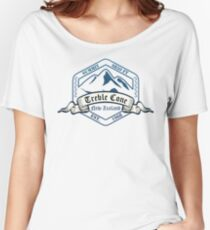 Treble Cone Ski Resort New Zealand Women's Relaxed Fit T-Shirt