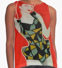 The coca cola advertisement outtake Contrast Tank