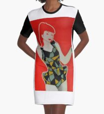The coca cola advertisement outtake Graphic T-Shirt Dress