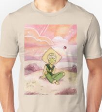 Peace and Love on the Planet Earth - Steven Universe Peridot Unisex T-Shirt