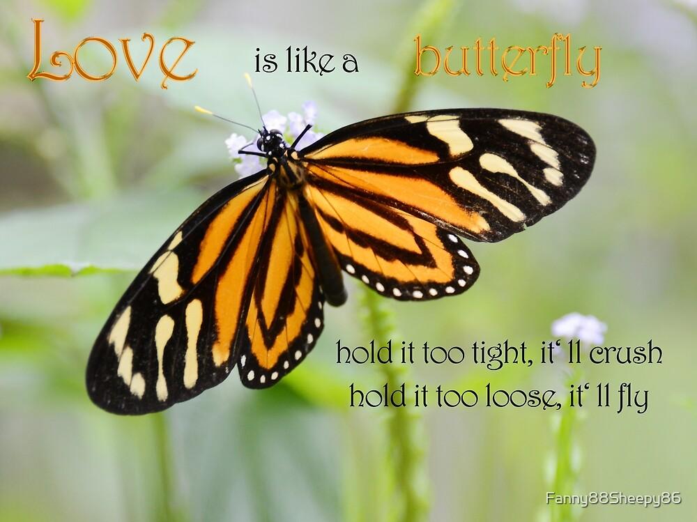 Love is like a butterfly by Fanny88Sheepy86