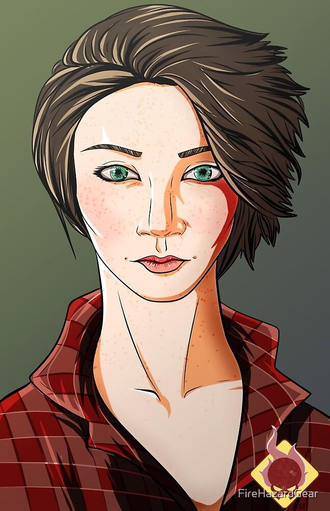Green Eyes by FireHazardGear
